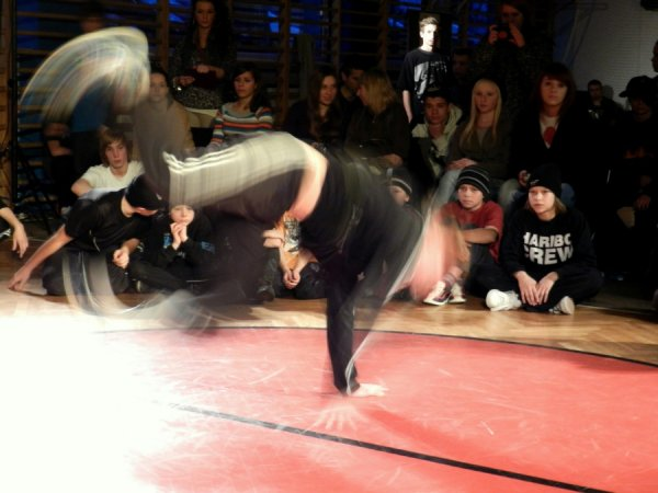 Breakdance Pobłocie