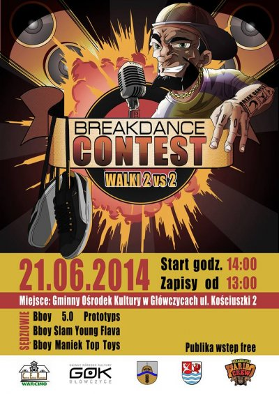 Plakat- breakdance 2014