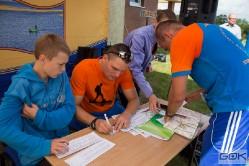 II Rajd na Orientację Maczuga Stolema 2014 - W trasie i na mecie TP15 i TP50